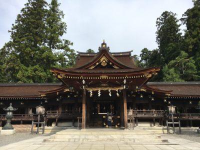 石川県・白山比咩神社&金劔宮からの滋賀県、多賀大社